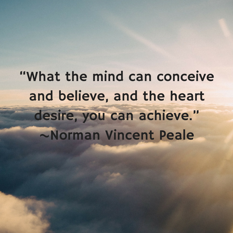 The Power Of Positive Thinking Quotes Norman Vincent Peale: Mindset Doesn't Matter...Or Does It? 5 Ways To Be More